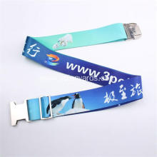 Luggage Belt Strap With  Platic Buckle  Custom Logo